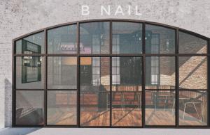 Hình ảnh cửa tiệm Bnails texas.