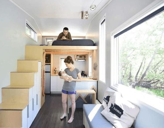Sử dụng đồ nội thất đơn giản