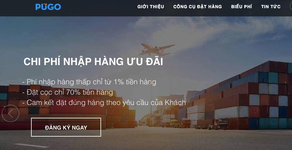 Website chia sẻ kinh nghiệm nhập hàng trung quốc - Pugo