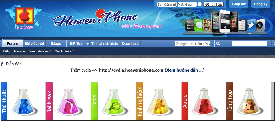 Diễn đàn lập trình website Headiphone