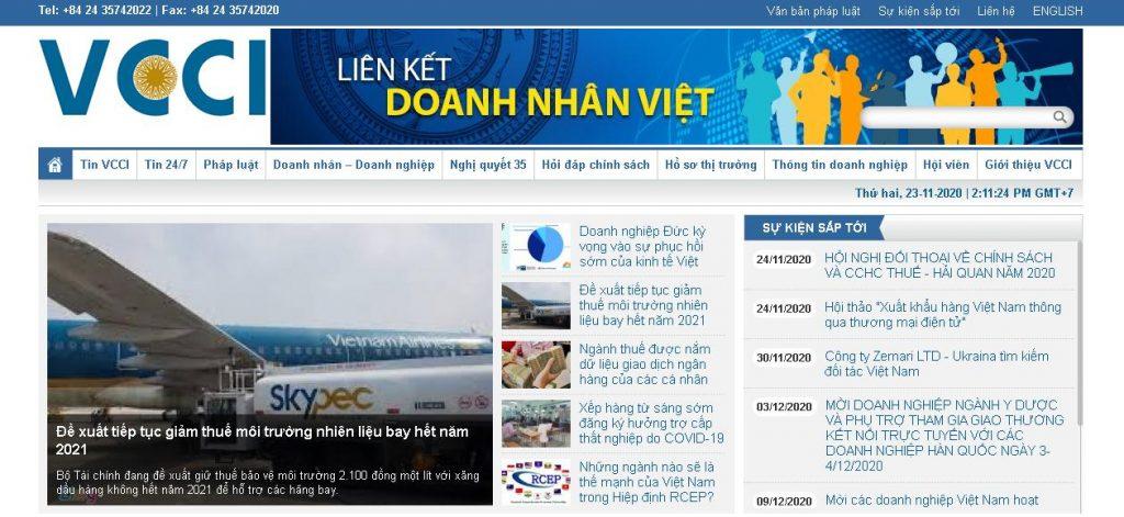 Phòng Thương mại và Công nghiệp Việt Nam
