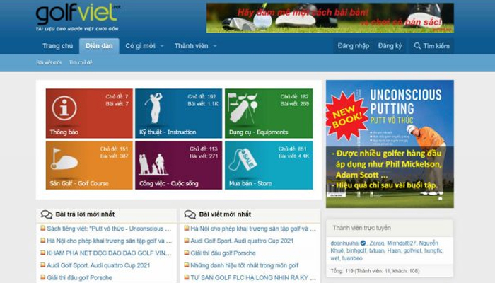 Diễn đàn golf Việt Nam - Golfviet.vn