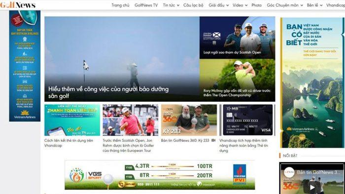 Trang tin tức golf hàng đầu Việt Nam - Golfnews.vn
